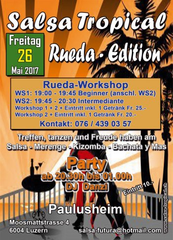 Salsa Tropical Rueda Edition 170526 Flyer A6 V3a