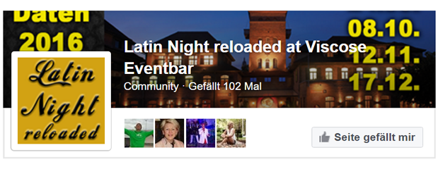 Werbung Latin Night reloadet V1
